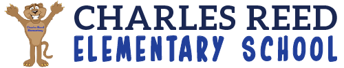 Charles Reed Elementary School logo centered